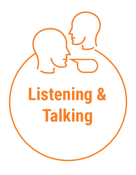 intervation-techniques listning and talking